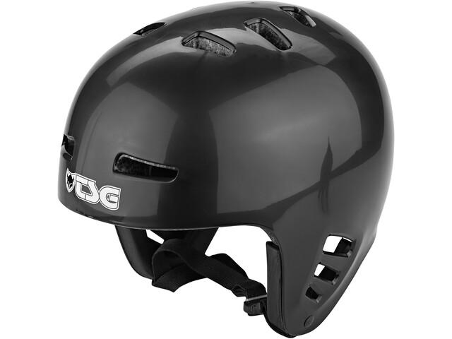 TSG Dawn Solid Color Cykelhjelm, black
